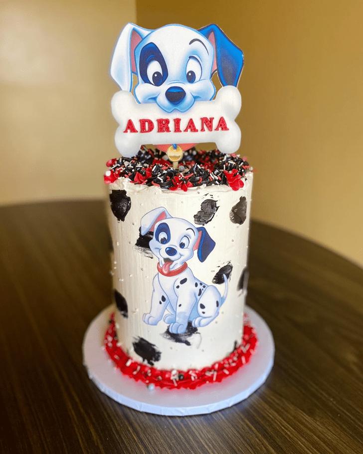 Shapely 101 Dalmatians Cake
