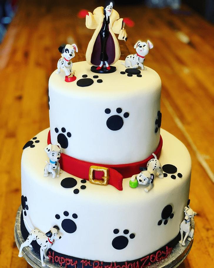 Splendid 101 Dalmatians Cake