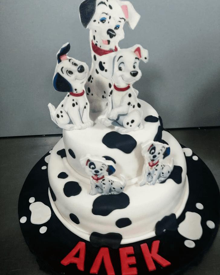 Superb 101 Dalmatians Cake