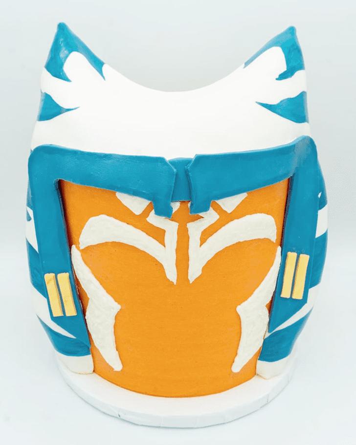Appealing Ahsoka Tano Cake