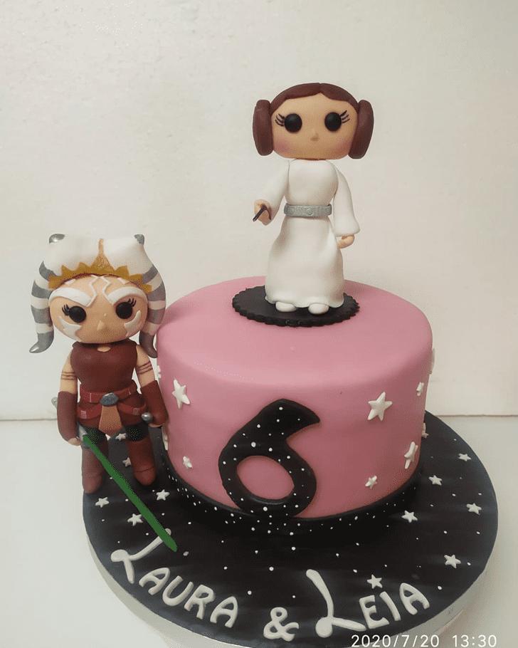 Captivating Ahsoka Tano Cake