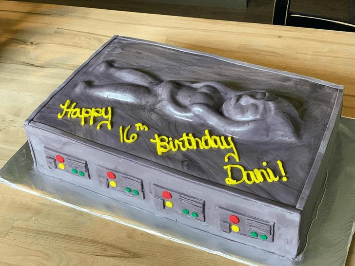 Charming Ahsoka Tano Cake