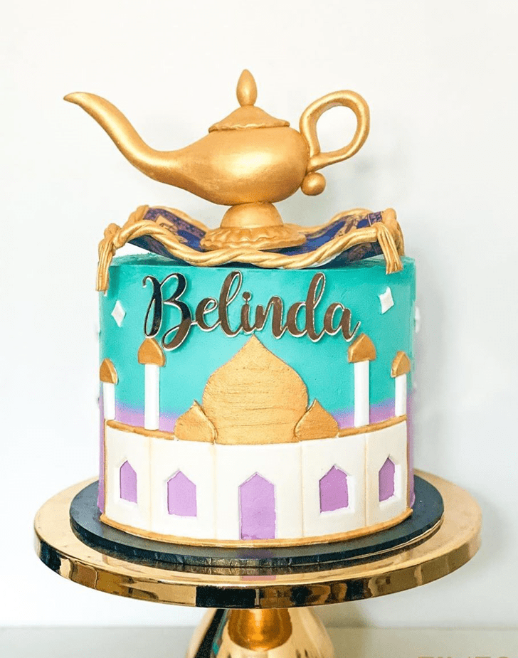 Admirable Aladdin Cake Design