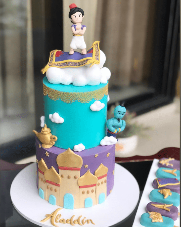 Adorable Aladdin Cake
