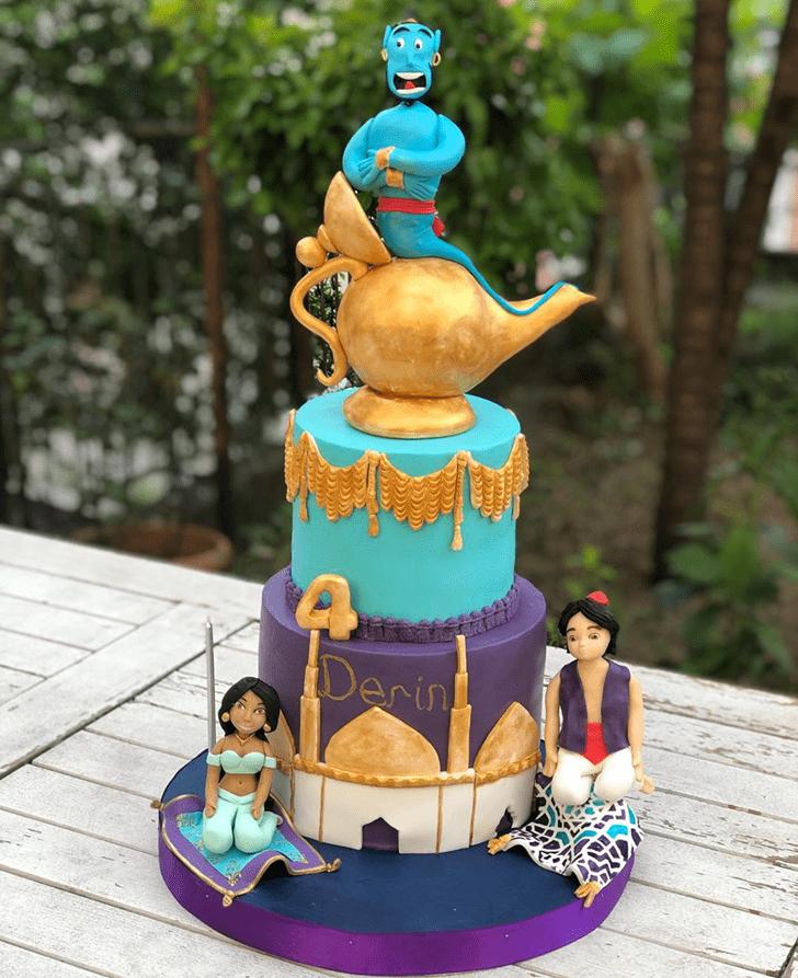 Alluring Aladdin Cake