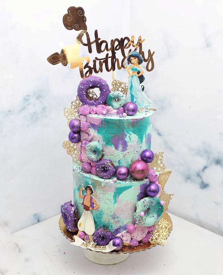 Angelic Aladdin Cake