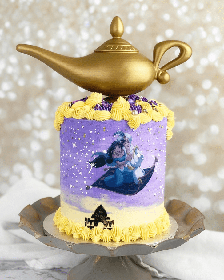 Beauteous Aladdin Cake