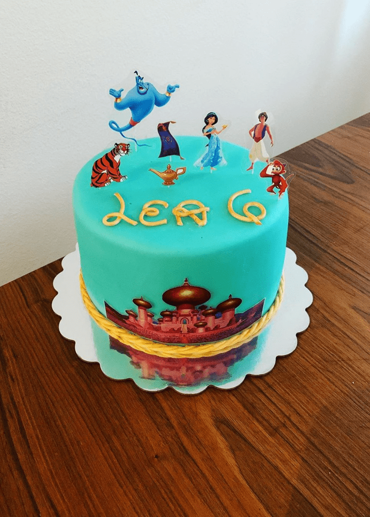 Captivating Aladdin Cake