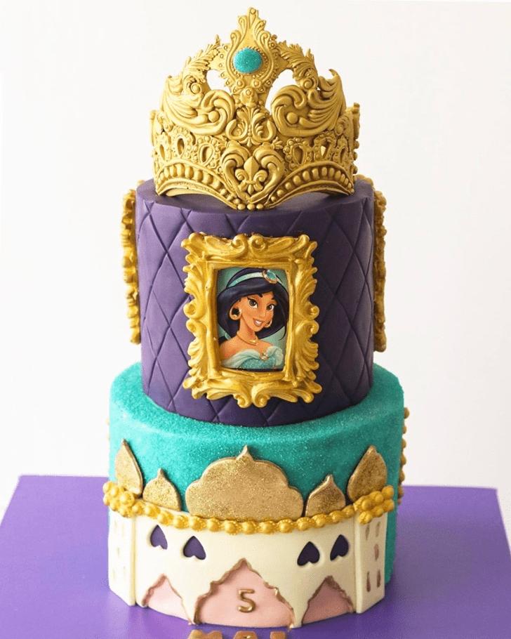 Classy Aladdin Cake