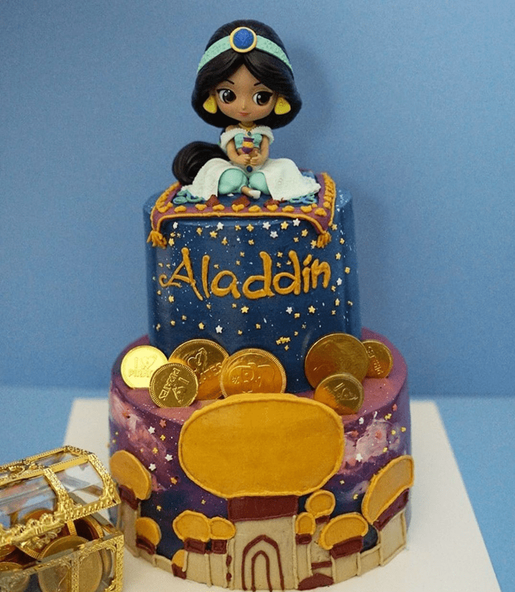 Comely Aladdin Cake