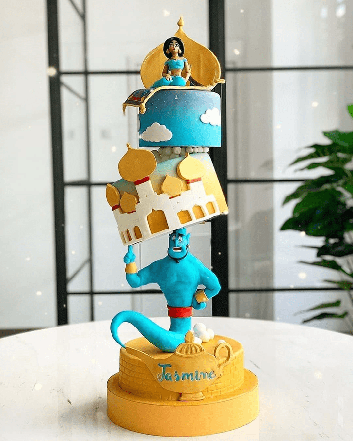 Divine Aladdin Cake