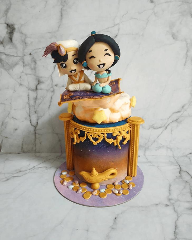 Elegant Aladdin Cake