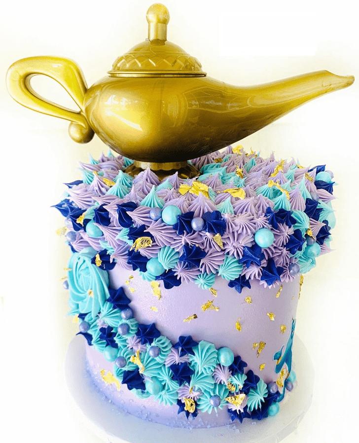 Enticing Aladdin Cake