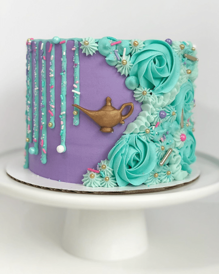 Excellent Aladdin Cake