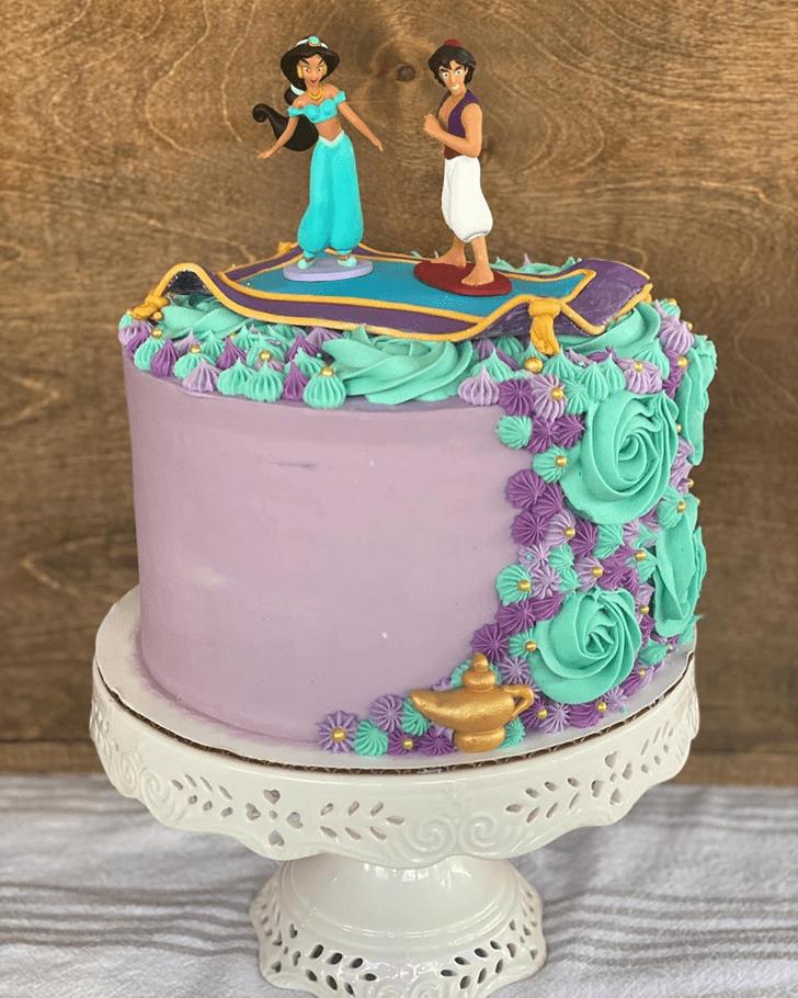 Fetching Aladdin Cake