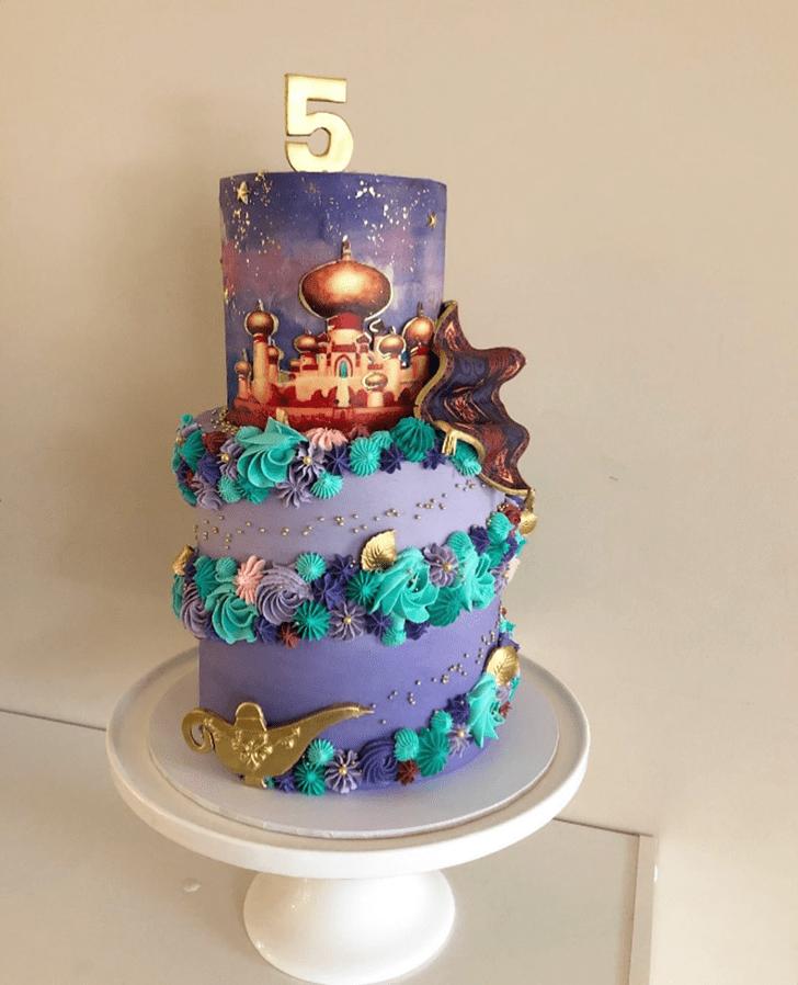 Good Looking Aladdin Cake