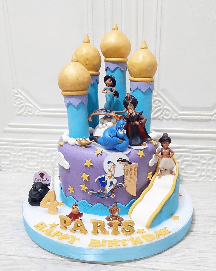Gorgeous Aladdin Cake