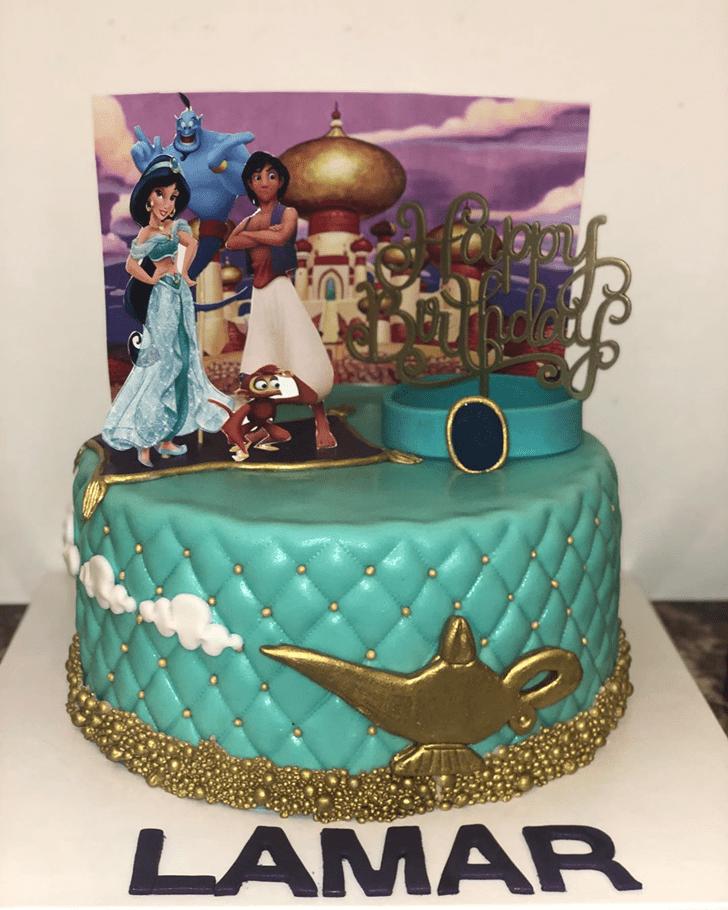 Ideal Aladdin Cake