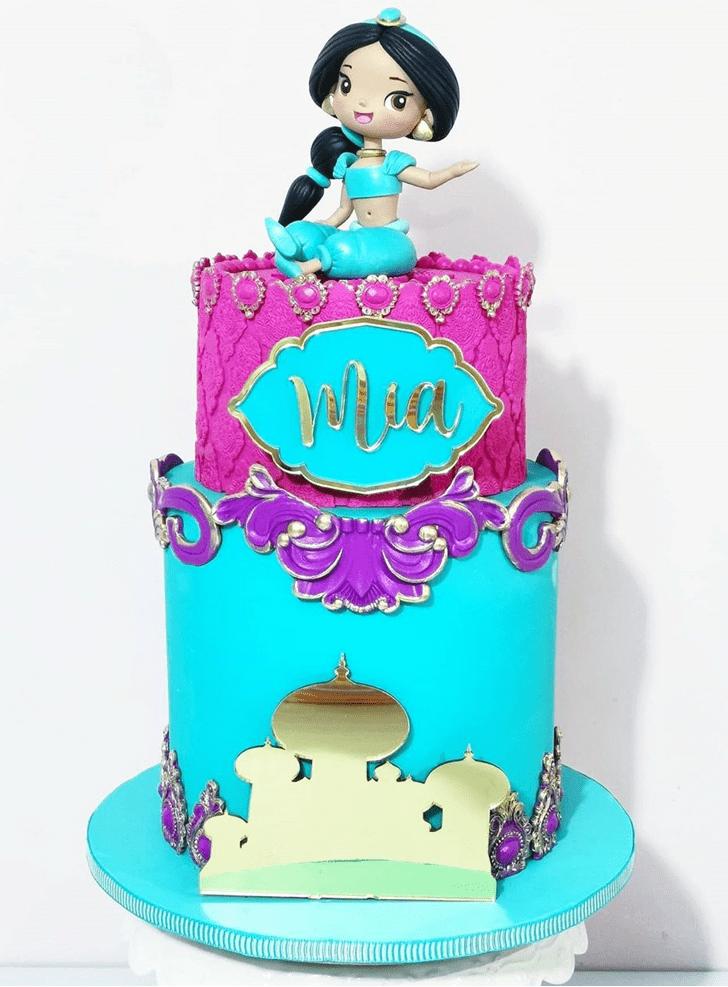 Inviting Aladdin Cake
