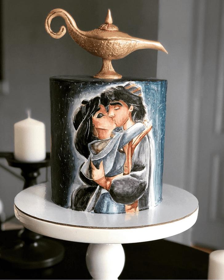 Magnetic Aladdin Cake