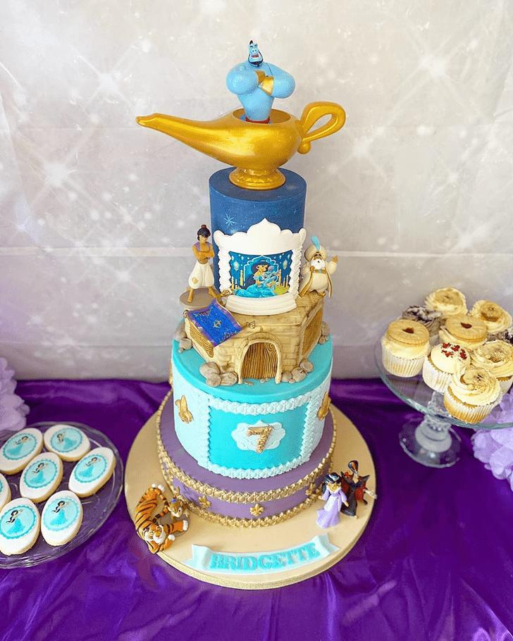 Nice Aladdin Cake