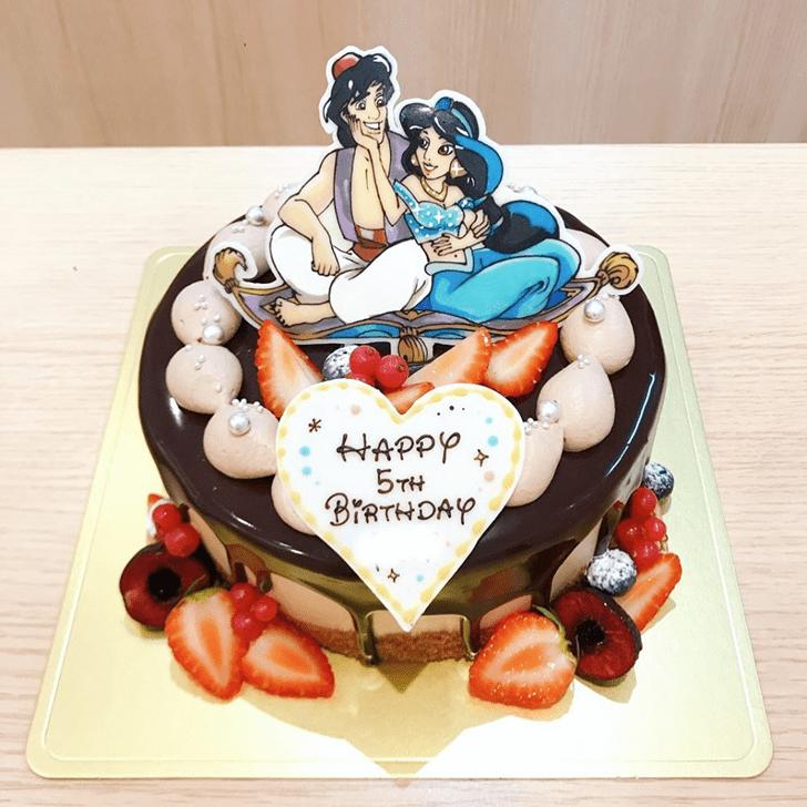 Ravishing Aladdin Cake