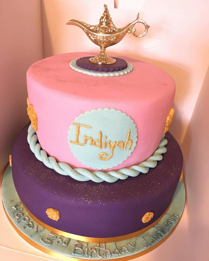 Refined Aladdin Cake