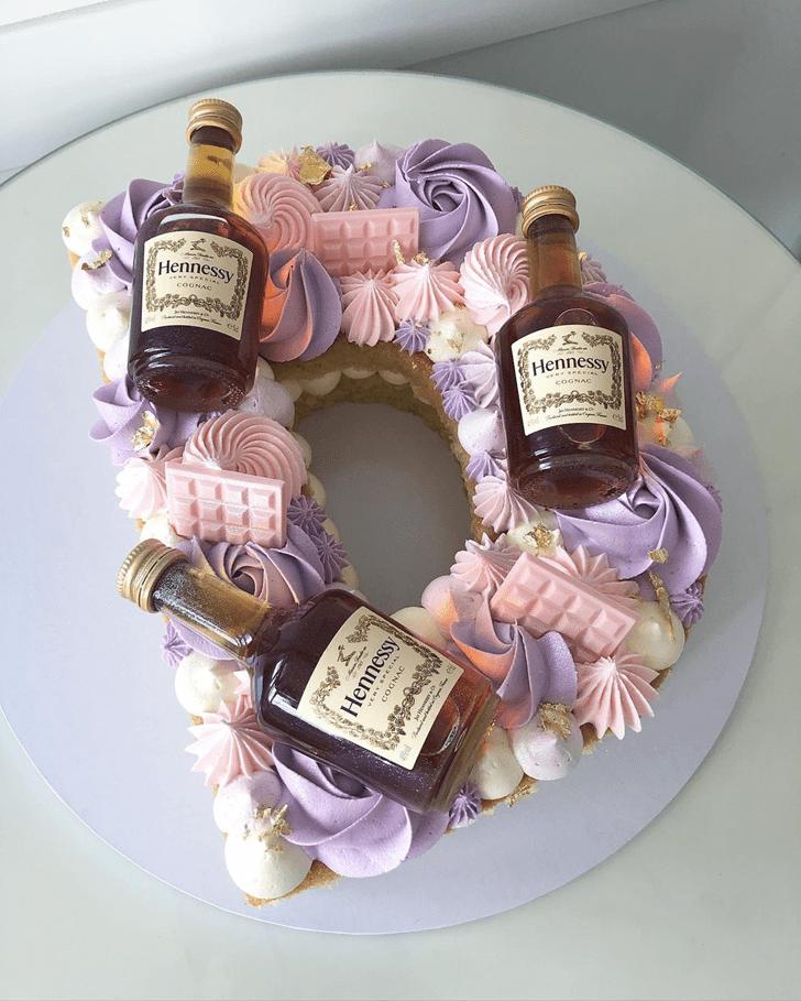 Adorable Alcohol Cake
