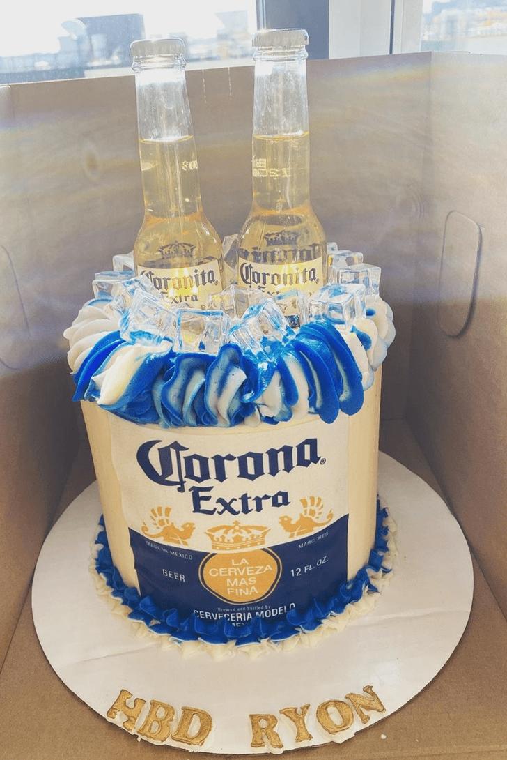 Captivating Alcohol Cake