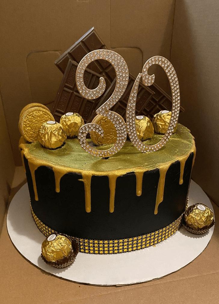 Charming Alcohol Cake