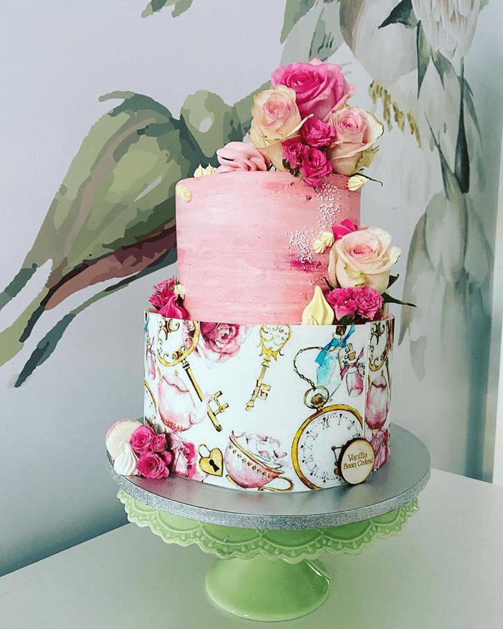Grand Alice in Wonderland Cake