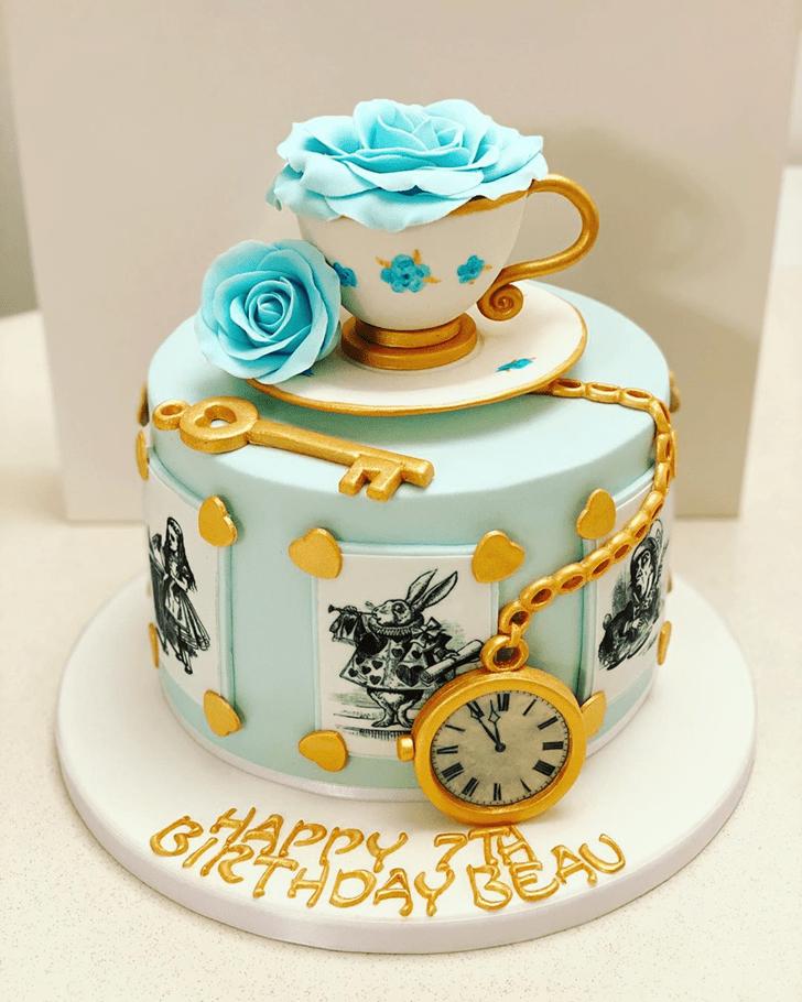 Magnificent Alice in Wonderland Cake