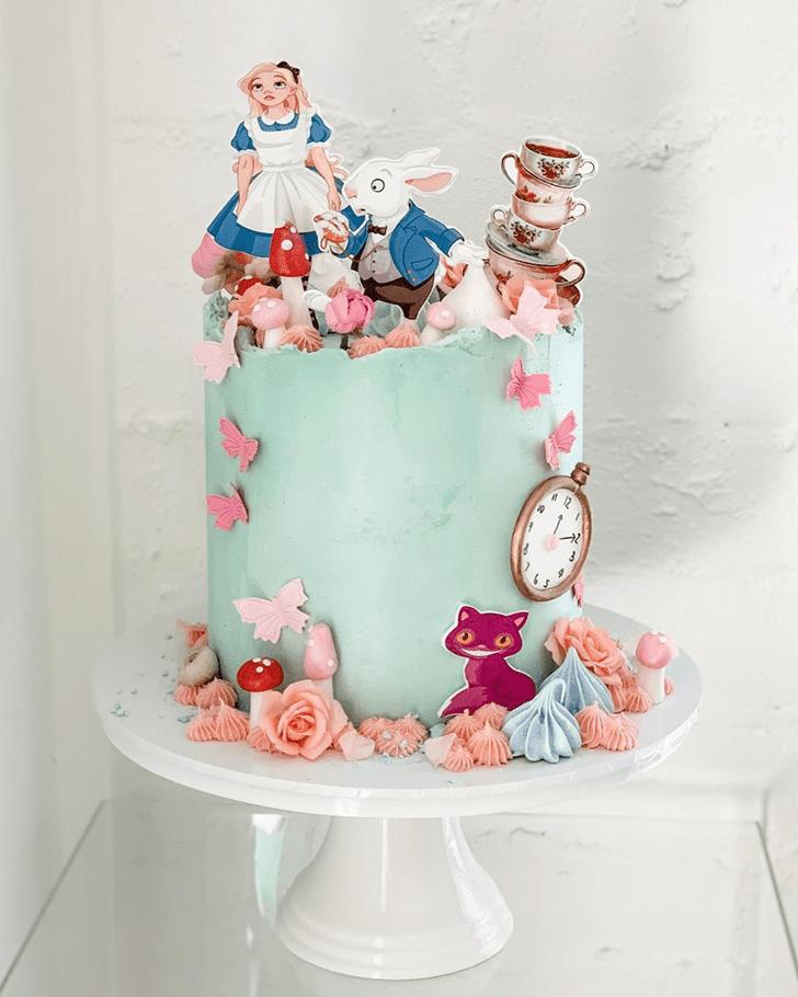 Mesmeric Alice in Wonderland Cake