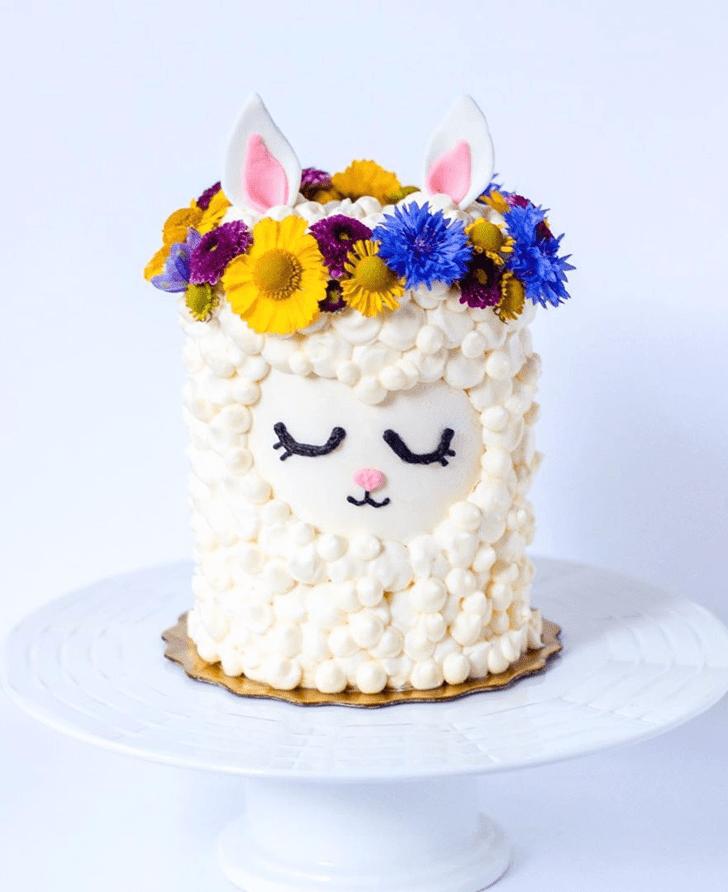 Captivating Alpaca Cake