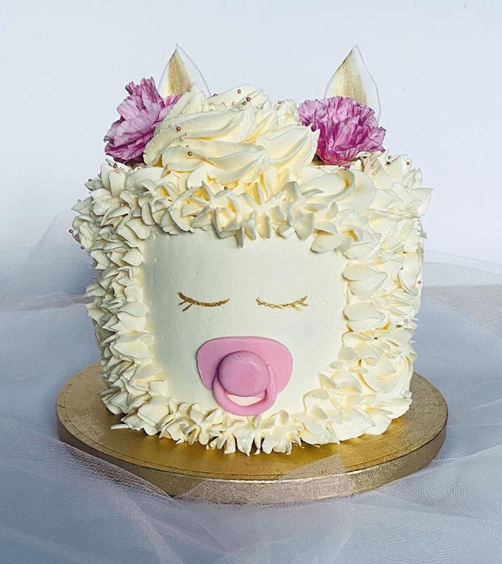 Charming Alpaca Cake