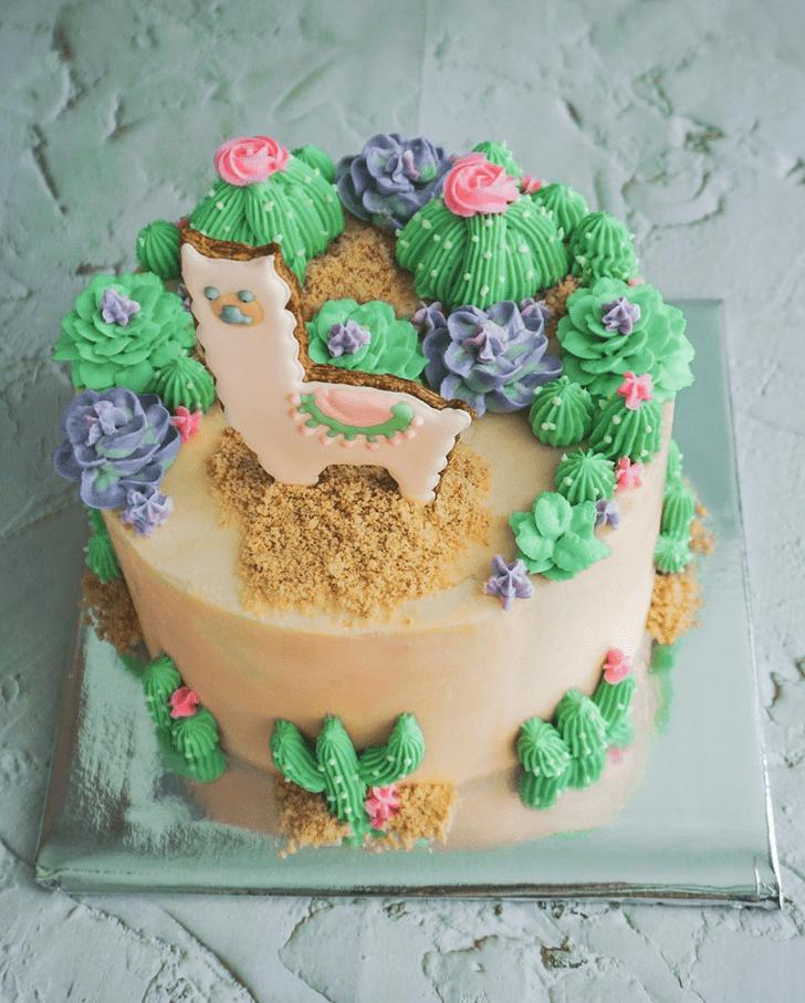 Excellent Alpaca Cake