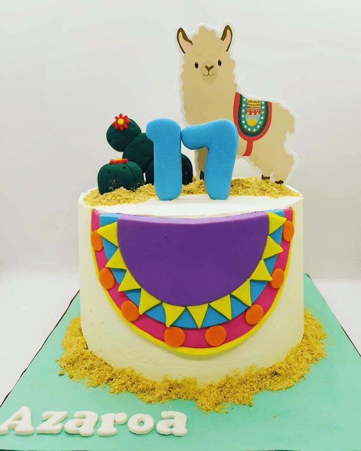 Fine Alpaca Cake
