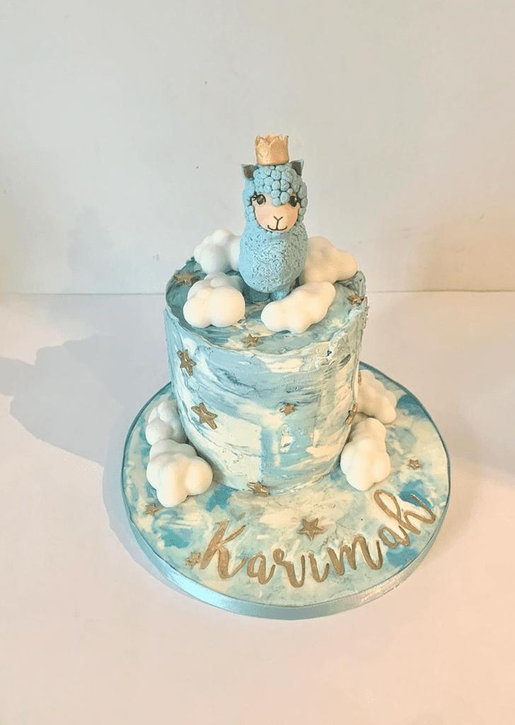 Ideal Alpaca Cake