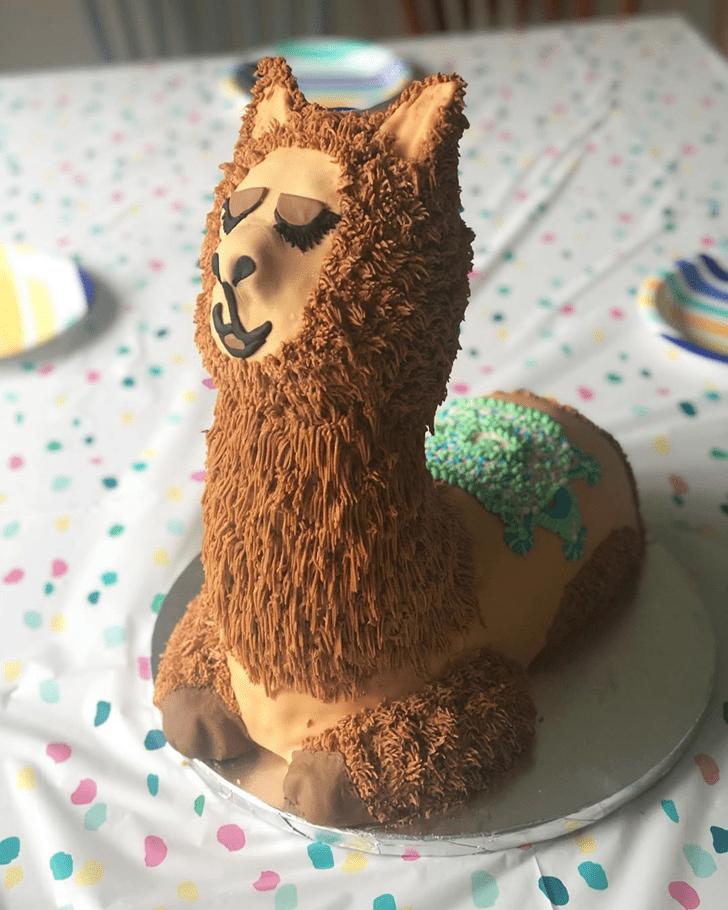 Marvelous Alpaca Cake