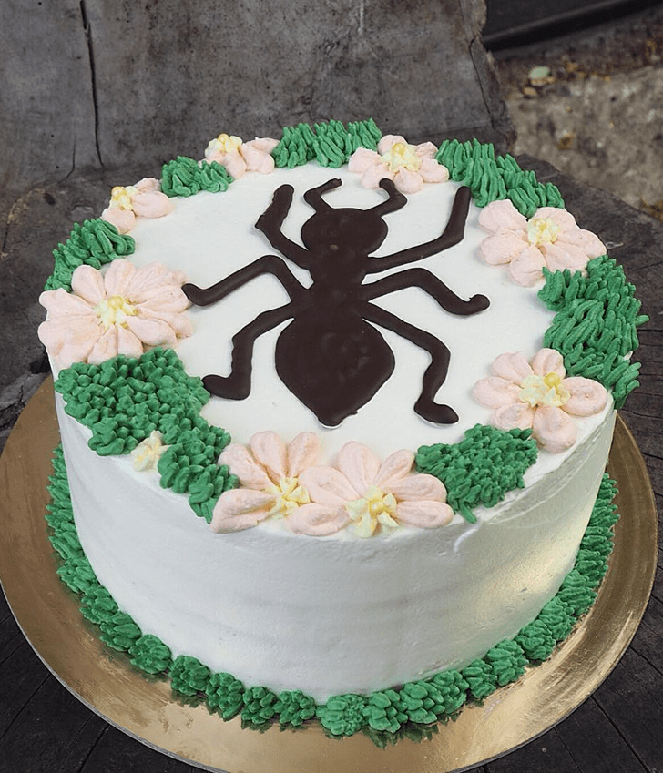 Dazzling Ant Cake