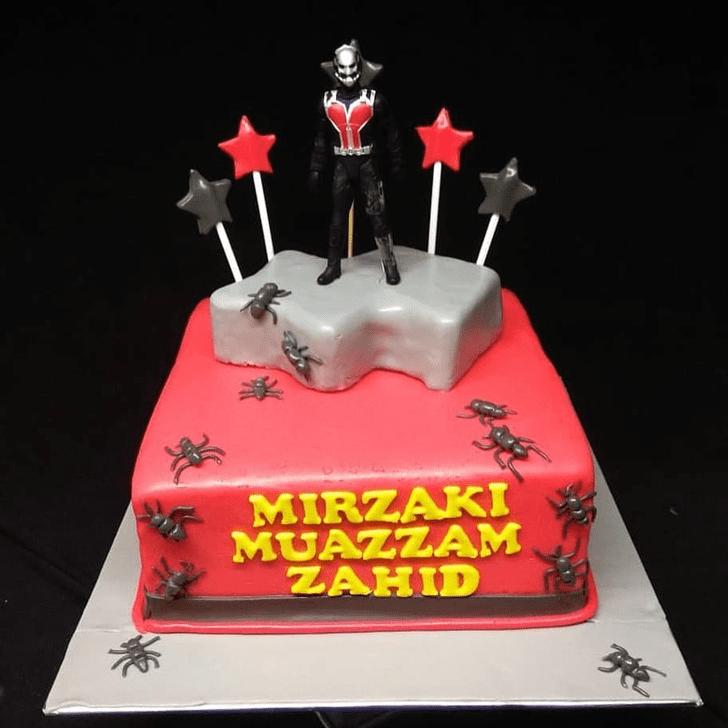 Appealing Antman Cake