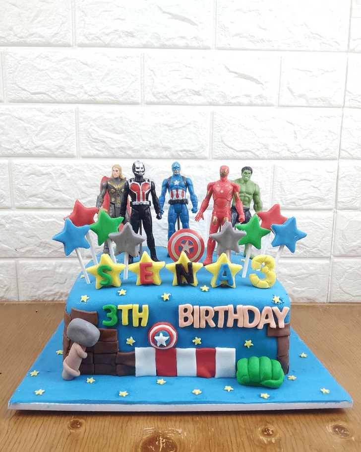 Beauteous Antman Cake