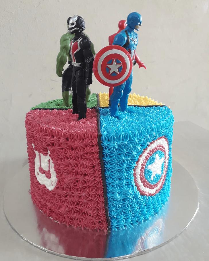 Bewitching Antman Cake