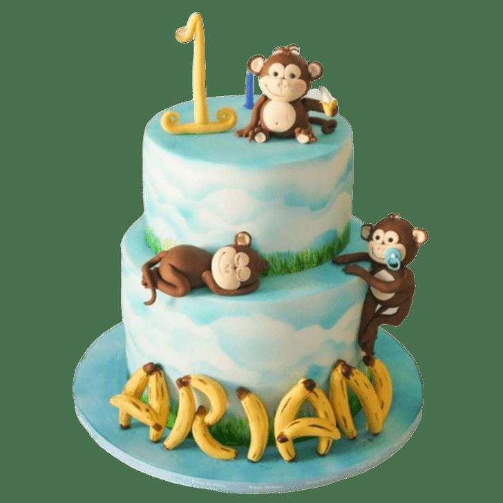 Appealing Ape Cake