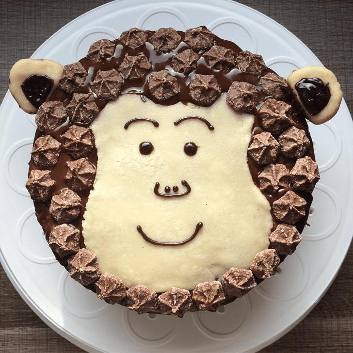 Beauteous Ape Cake