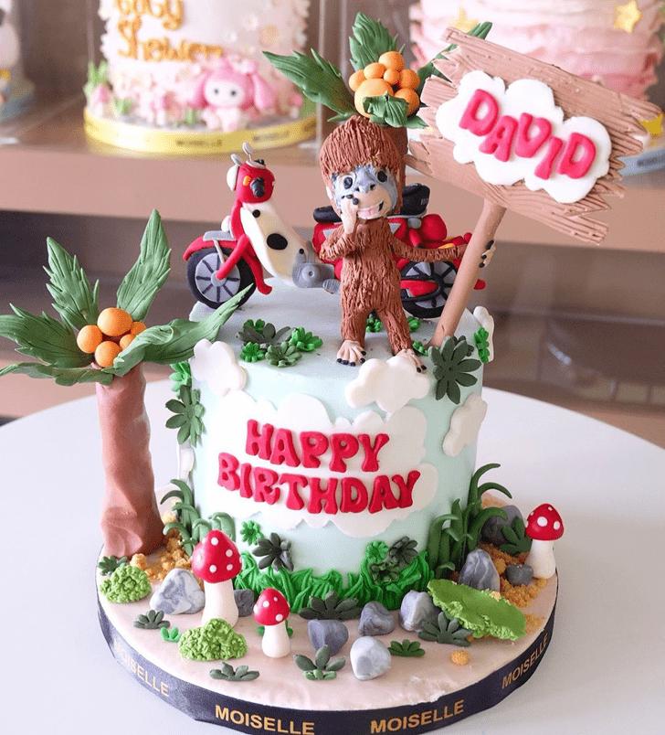 Bewitching Ape Cake