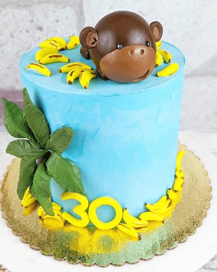 Captivating Ape Cake