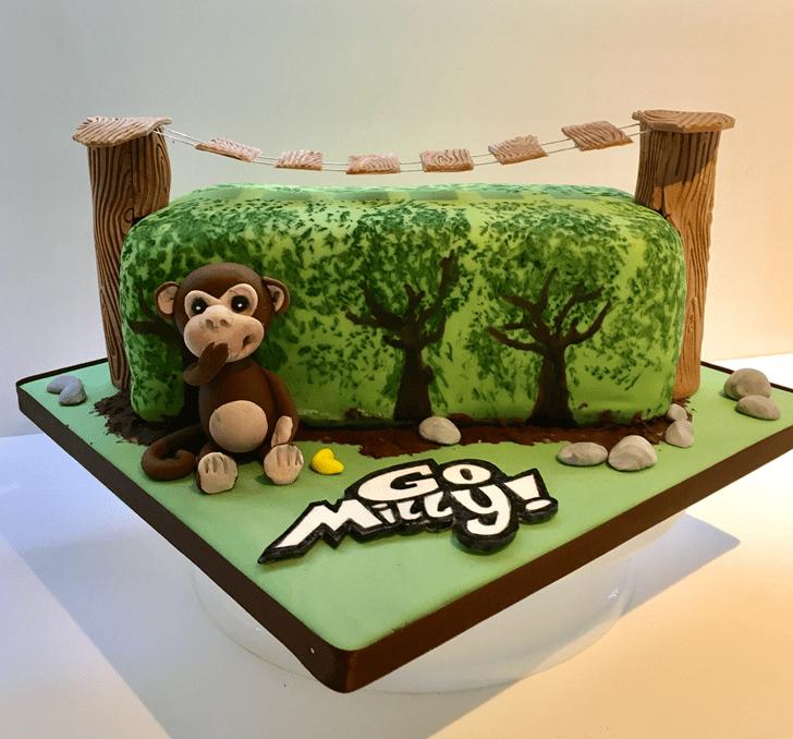 Charming Ape Cake