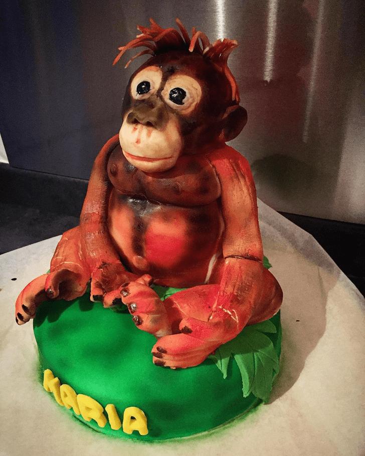 Classy Ape Cake