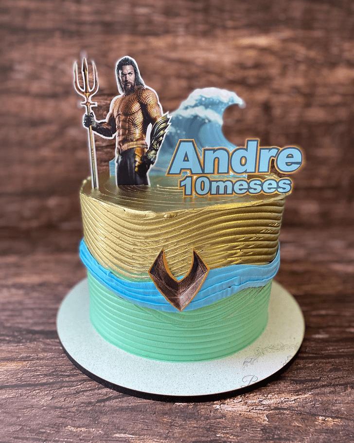 Bewitching Aquaman Cake